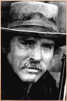 Actor Burt Lancaster, 1972 Poster in Aluminium Frame
