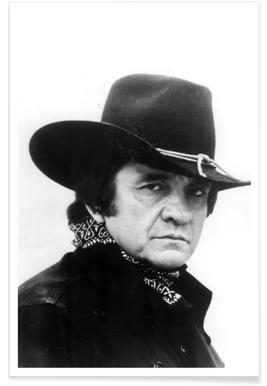 Country Singer, Johnny Cash Photograph Poster