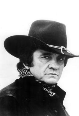 Country Singer, Johnny Cash tableau en verre