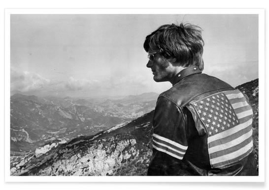 Easy Rider, Peter Fonda Photograph Poster