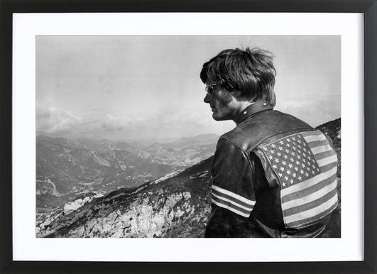Easy Rider, Peter Fonda affiche sous cadre en bois