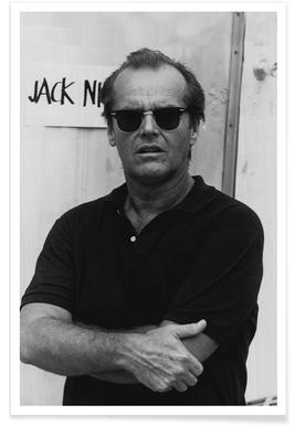Jack Nicholson in Sunglasses - Photographie affiche