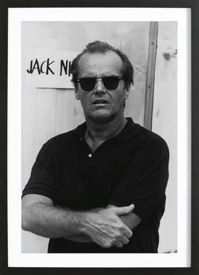 Jack Nicholson in Sunglasses Framed Print