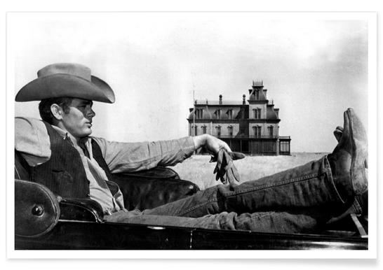 James Dean in 'Giant' affiche