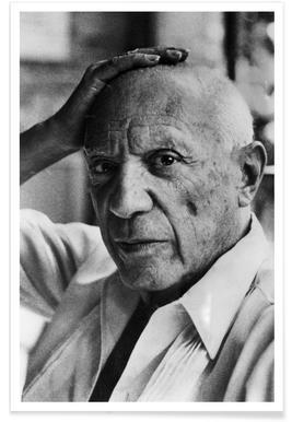 Pablo Picasso Vintage Photograph Poster