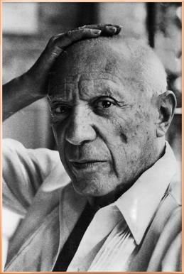Pablo Picasso affiche sous cadre en aluminium