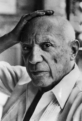 Pablo Picasso tableau en verre