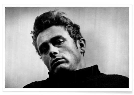 James Dean, 1955 - Photographie vintage affiche