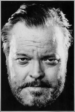 Orson Welles affiche sous cadre en aluminium