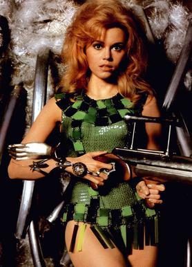 Jane Fonda as 'Barbarella' toile