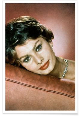 Sophia Loren in the Sixties affiche