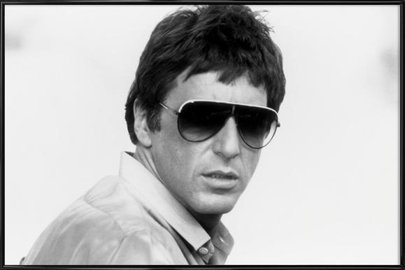 Al Pacino as Tony Montana in 'Scarface' affiche encadrée