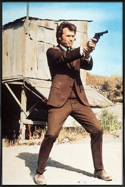 Clint Eastwood in 'Dirty Harry' Framed Poster