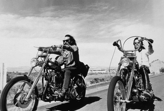 Dennis Hopper & Peter Fonda, 'Easy Rider' Aluminium Print