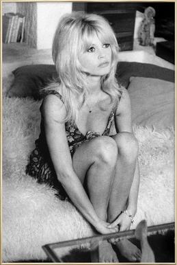 Brigitte Bardot, 'Dear Brigitte' affiche sous cadre en aluminium