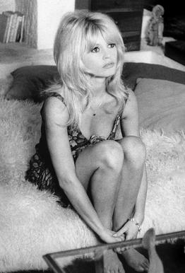 Brigitte Bardot, 'Dear Brigitte' tableau en verre
