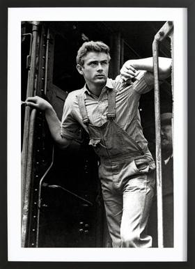 James Dean, 'East of Eden' Framed Print
