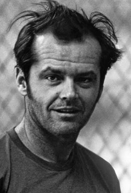 Jack Nicholson in 'One Flew Over the Cuckoo's Nest' Aluminium Print