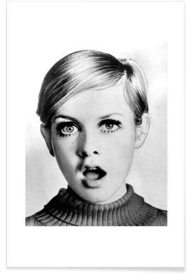 Twiggy, 1966 Affiche