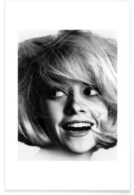 Model, 1966 Vintage Photograph Poster
