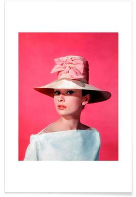 Audrey Hepburn in Funny Face, 1957 affiche