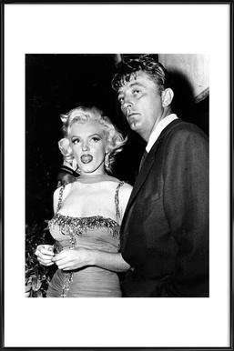 Marilyn Monroe and Robert Mitchum, 1953 Framed Poster