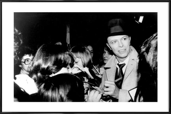 David Bowie ingelijste poster