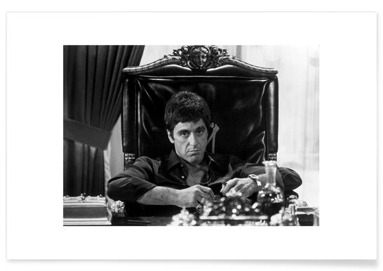 Al Pacino in Scarface Poster