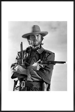 Clint Eastwood in The Outlaw Josey Wales, 1975 Framed Poster