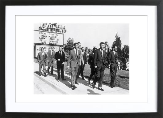 The Rat Pack, 1964 Poster in houten lijst