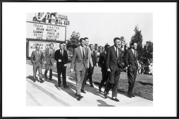 The Rat Pack, 1964 Framed Poster