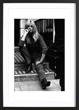 Brigitte Bardot, 1966 affiche encadrée