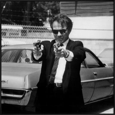 Harvey Keitel in Reservoir Dogs Framed Poster