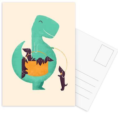 Trex Weiner Set de cartes postales