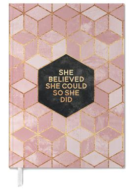 She Believed She Could -Terminplaner