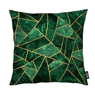 Deep Emerald Kussen