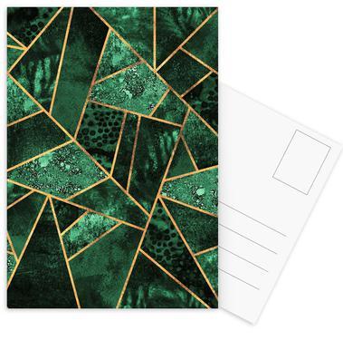 Deep Emerald -Postkartenset