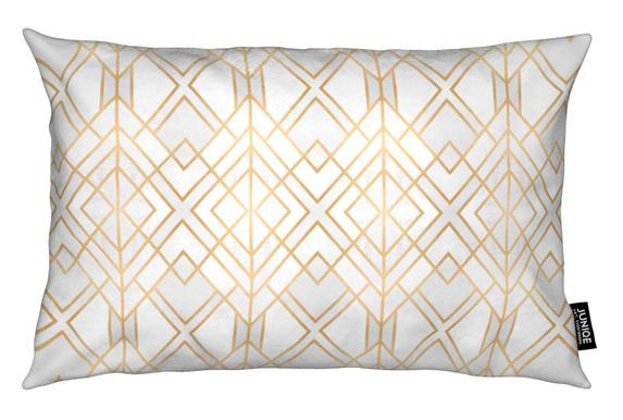Golden Geo Cushion