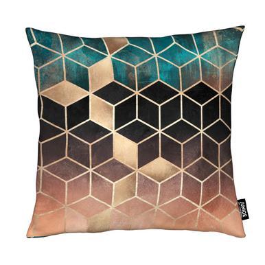 Ombre Dream Cubes Kussen