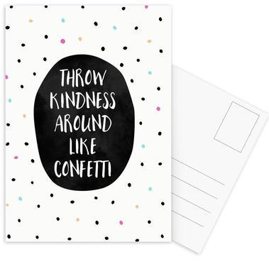 Throw Kindness ansichtkaartenset