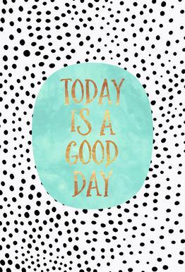 Today Is a Good Day -Acrylglasbild