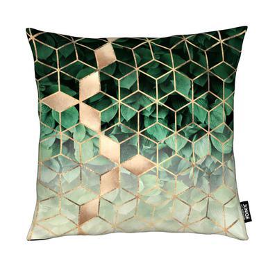 Leaves & Cubes Cushion