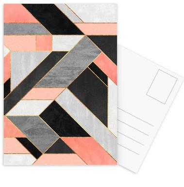 Construct -Postkartenset