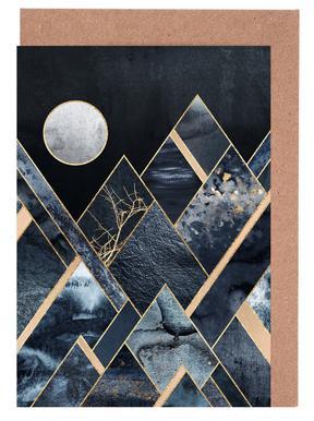 Stormy Mountains Set de cartes de vœux