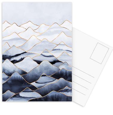 Mountains 1 -Postkartenset