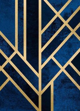Art Deco Midnight as Hand & Bath Towel | JUNIQE UK