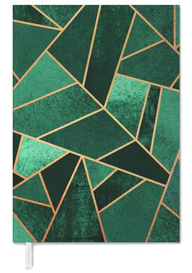 Emerald and Copper Personal Planner