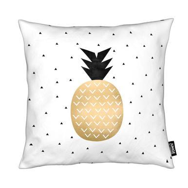 Golden Pineapple Cushion