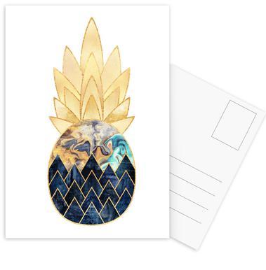 Precious Pineapple 1 -Postkartenset