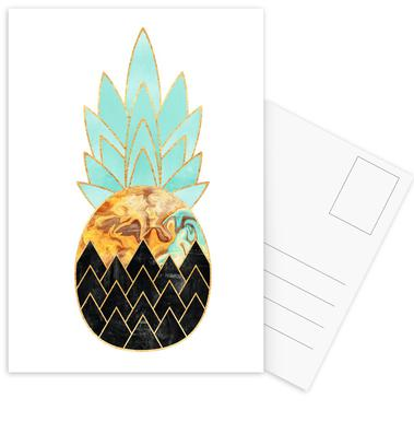 Precious Pineapple 3 -Postkartenset